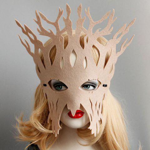 Store Halloween Party Tree Mask KHAKI