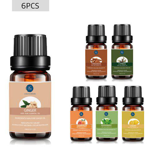 Unique 6 Bottles Metabolic Blend Essential Oil Set