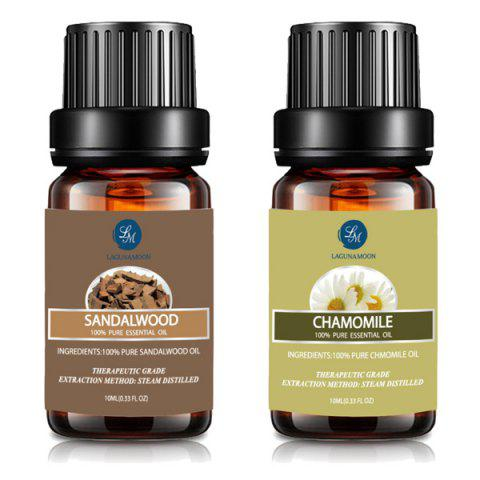 Shops Top 2 Kit Chamomile Sandalwood Essential Oil Set