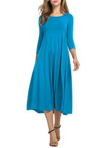 Store Casual A Line Midi Day Dress