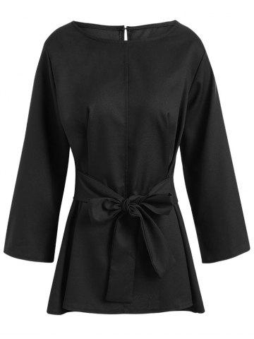 Buy Plus Size Skirted Belted Blouse