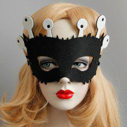 Halloween Funny Eyes Party Mask - BLACK