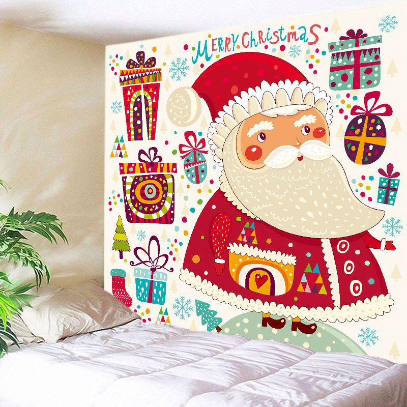 Buy Christmas Gifts Santa Print Tapestry Wall Hanging Art Decoration