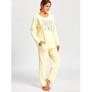 Nursing Floral PJ Set with Long Sleeves -