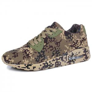 Camouflage Breathable Casual Shoes - BROWN 45