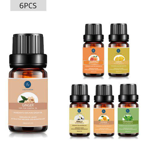 Online 6 Bottles Uplifting Blend Essential Oil Set