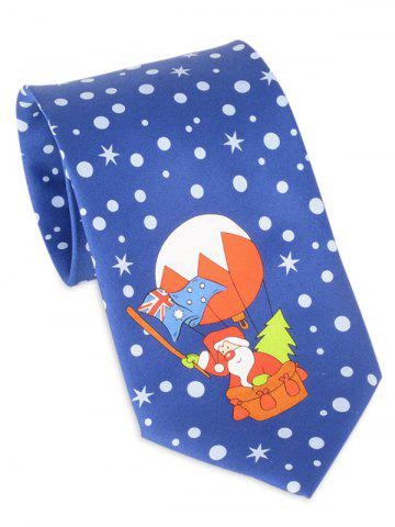 Shop Santa Claus Flying by Balloon Tie