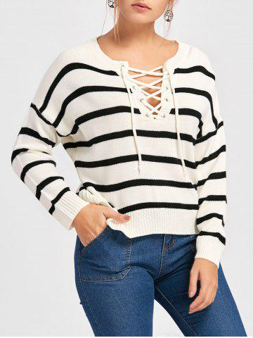 http://www.rosegal.com/sweaters/striped-lace-up-pullover-sweater-1300355.html