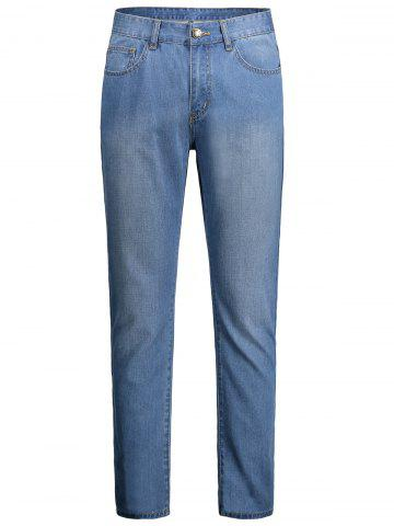 Best Faded Zip Fly Regular Fit Jeans