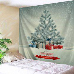 Wall Decor Christmas Cedar Print Tapestry -