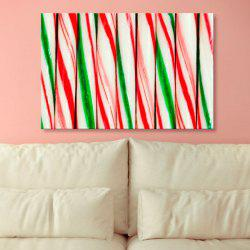 Decorative Wall Art Print Canvas Painting - COLORFUL 1PC:24*39 INCH( NO FRAME )