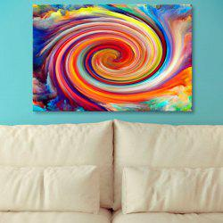 Wall Art Oil Painting Vortex Canvas Prints - COLORFUL 1PC:24*39 INCH( NO FRAME )