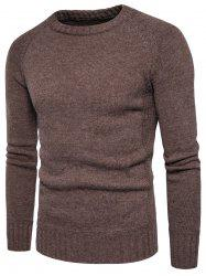 Knit Blends Elbow Patch Sweater -