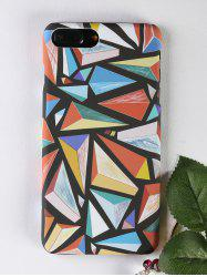 Colorful Geometric Pattern Protective Phone Case For Iphone -