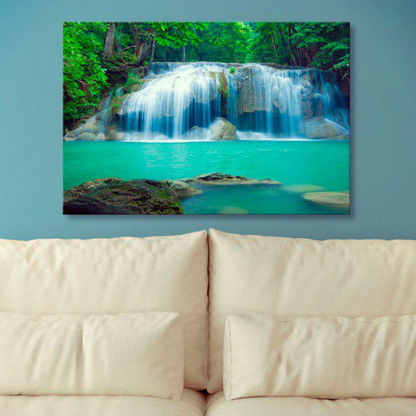 Waterfall Prints Canvas Wall Art Painting