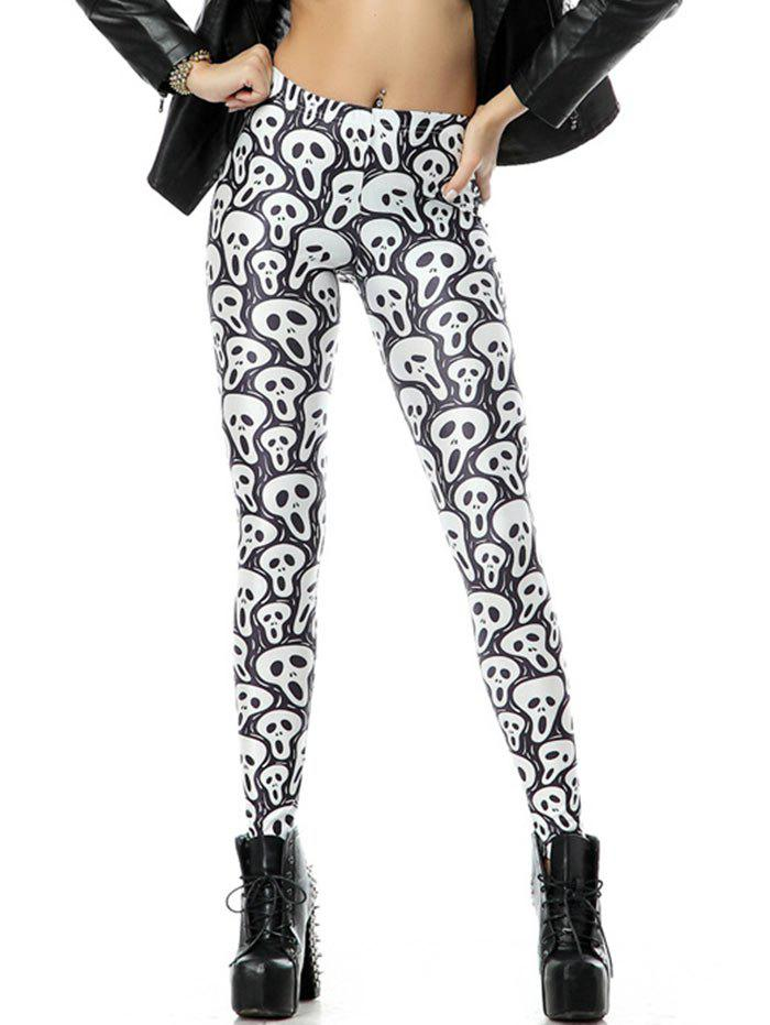 Store Classic Scary Halloween Leggings