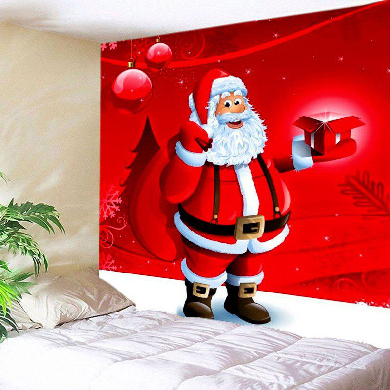 Outfits Christmas Santa Gift Print Tapestry Wall Hanging Art Decoration