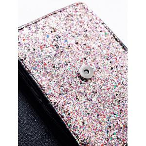 Chain Glitter Crossbody Bag -