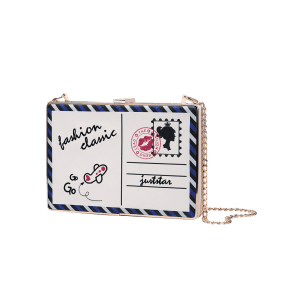 Carte en chaîne Box Crossbody -