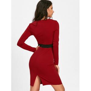 Robe Bodycon - Rouge XL