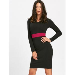 Robe Bodycon - Noir 2XL