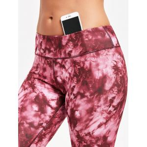 Tie Dye Sports Leggings -