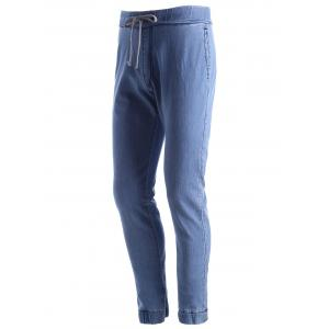 Jeans à bascule stretch -