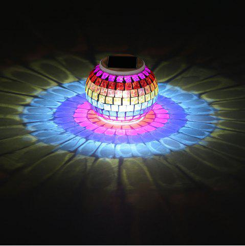 Fashion Creative Color Changing Solar Lights Jar