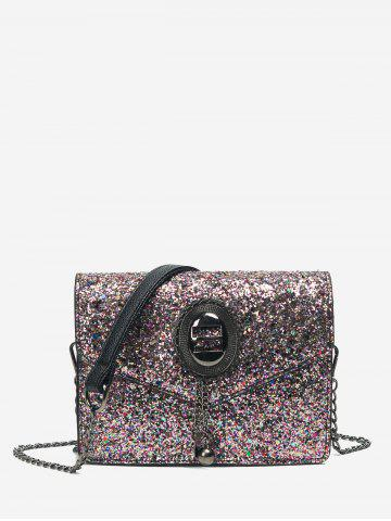 Best Chain Glitter Crossbody Bag
