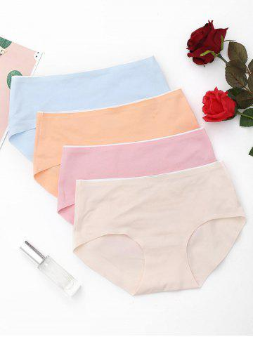 Cheap 4 Pieces Seamless Panties