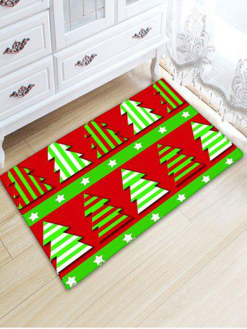Discount Flannel Thickening Christmas Tree Area Rug