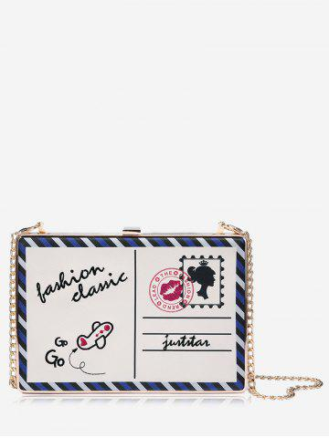 Carte en chaîne Box Crossbody