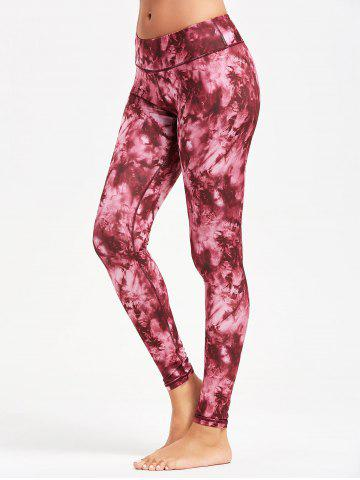 Trendy Tie Dye Sports Leggings