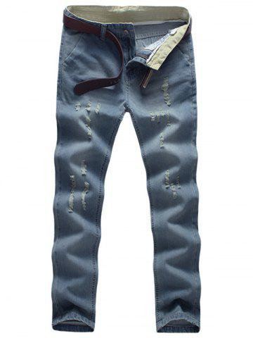 Light Wash Distressed Neuf Minutes of Jeans