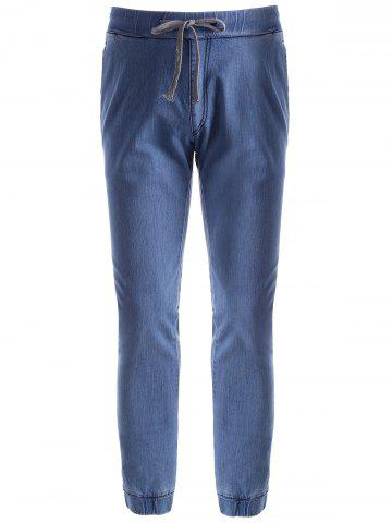 Latest Stretch Drawstring Jogger Jeans