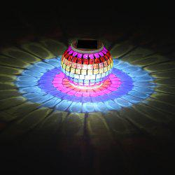 Creative Color Changing Solar Lights Jar - Colorful