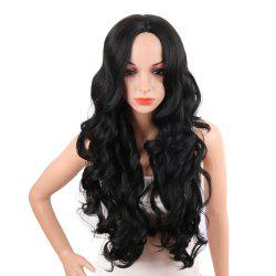 Middle Parting Long Body Wave Synthetic Wig -