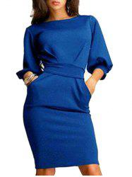 Robe de bureau en gaine - Royal M