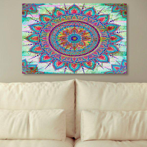 Bohemian Mandala Print Canvas Wall Art Painting