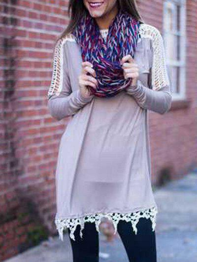 Best Tunic T Shirt Dress with Lace