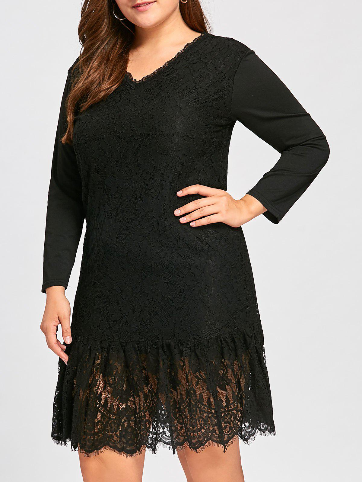 42837dc5017 Plus Size Lace Dress Long Sleeve - Gomes Weine AG