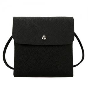 2 Pieces Rivet Shoulder Bag Set -