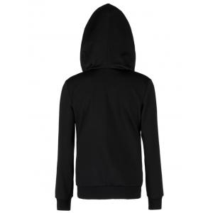 Starry Sky Hoodie with Pocket - COLORMIX M