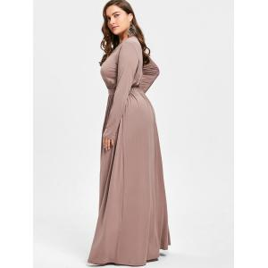 Robe taille taille taille Maxi Plus - Camel 3XL