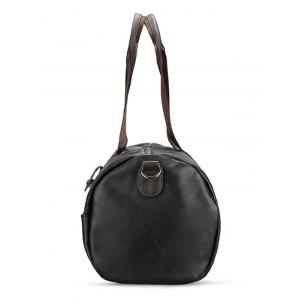 PU Leather Rivets Weekend Bag -