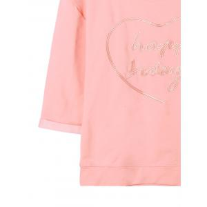 Letter Embroidery Top -