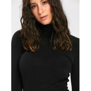 Long Sleeve Turtleneck Pullover Sweater -