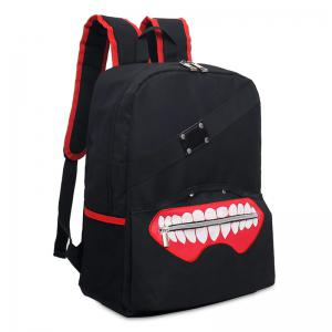 Rivet Lips Color Block Backpack -