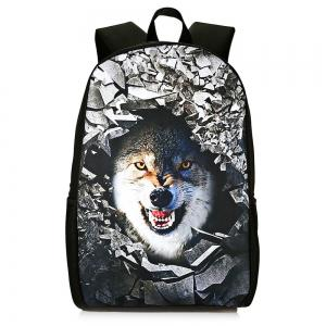 3D Rubble Animal Print Backpack -