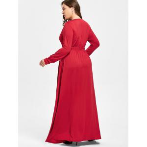 Robe taille taille taille Maxi Plus -